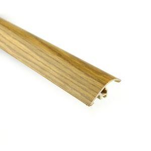 Höhenausgleichsprofil Myck, 40mm, PVC, Eiche 2E, 1m – Bild 1