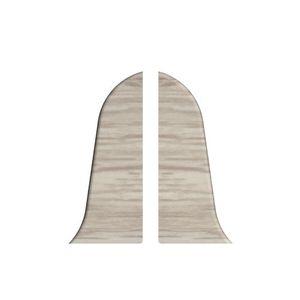 Abschluss Links + Rechts Prexa 54, PVC, Pinie F9, 2 Stück – Bild 1