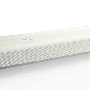 Treppenstufenprofil F Borck, 16x23x8mm, Aluminium, Silber 01, 0,9m – Bild 3