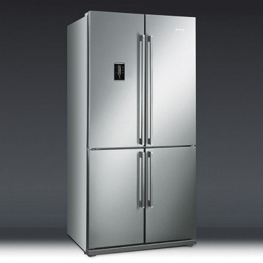 FQ60XPE, Side-by-Side-Kühlgefrierkombi, EEK-A+, 92cm, No Frost, Edelstahl – Bild 3