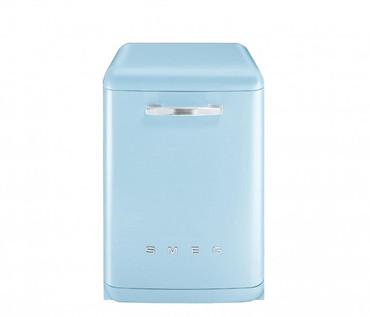 BLV2AZ-2, Standgeschirrspüler, EEK-A+++, 50er Jahre Design Pastellblau, 60 cm – Bild 1