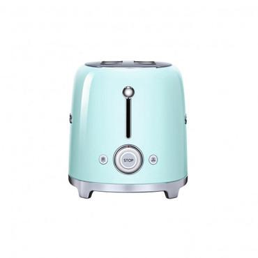 50's Retro Style, Toaster, 4-Scheiben, Pastellgrün, 6 Röstgradstufen, 3 Automatikprogramme, 1500 W – Bild 2