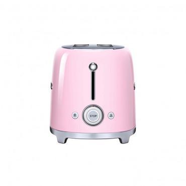50's Retro Style, Toaster, 4-Scheiben, Cadillac Pink, 6 Röstgradstufen, 3 Automatikprogramme, 1500 W – Bild 2
