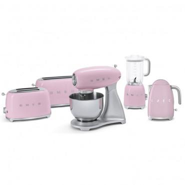 50's Retro Style, Toaster, 4-Scheiben, Cadillac Pink, 6 Röstgradstufen, 3 Automatikprogramme, 1500 W – Bild 5