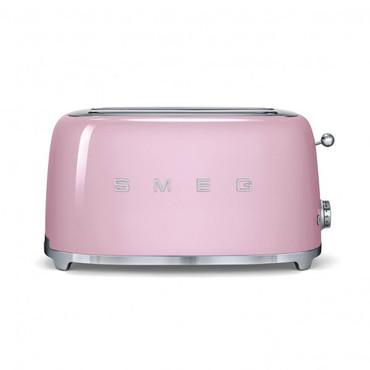 50's Retro Style, Toaster, 4-Scheiben, Cadillac Pink, 6 Röstgradstufen, 3 Automatikprogramme, 1500 W – Bild 1