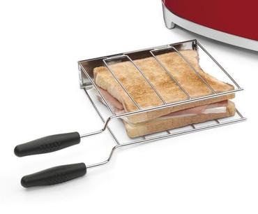 TSSR01, Sandwichzangen, 2 Stück  f. 2-Scheiben-Toaster  – Bild 2
