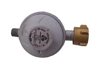 Gas-Druckminderer 50 mbar Standard, nur im Außenbereich einzusetzen