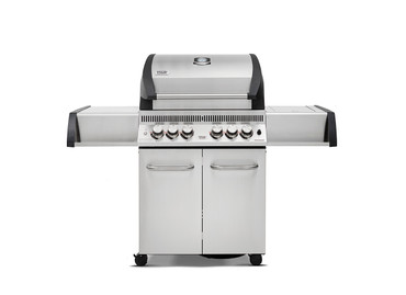 BroilChef BC-540SBS, Paramount Edelstahl, Grillrost aus Edelstahl, Seitenablagen aus Edelstahl – Bild 1