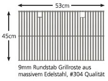 BroilChef BC-830SB, ProSeries Built-In 3-Brenner Gasgrill – Bild 3