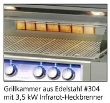 BroilChef BC-830SB, ProSeries Built-In 3-Brenner Gasgrill – Bild 6