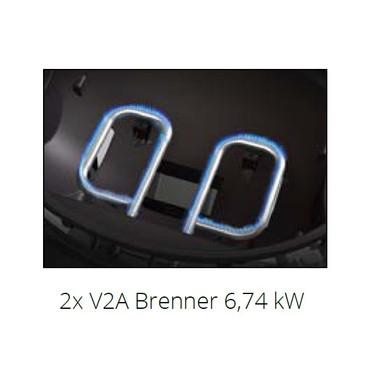 BroilChef DUKE 200 2-Brenner Gasgrill, BC-R2B2 – Bild 3