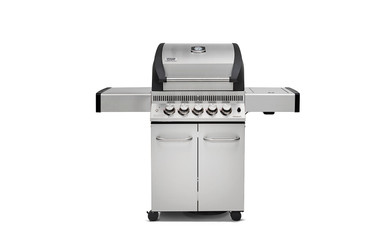 BroilChef BC-430SBS, Paramount Edelstahl, Grillrost aus Edelstahl, Seitenablagen aus Edelstahl – Bild 1