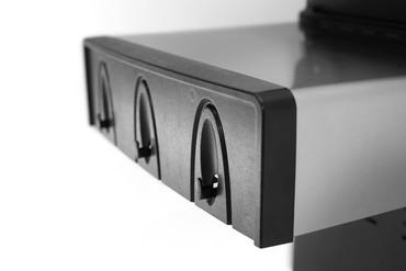 BroilChef BC-430BBS, Paramount Black, Grillrost aus Edelstahl, Seitenablagen aus Edelstahl – Bild 11