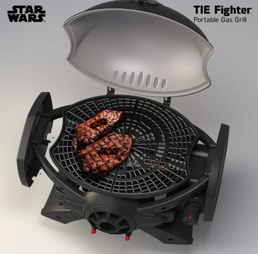 STAR WARS TIE-Fighter Gasgrill SW-2201 – Bild 3