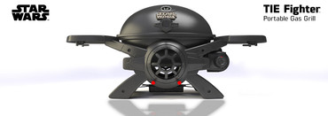 STAR WARS TIE-Fighter Gasgrill SW-2201
