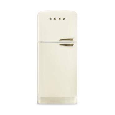 Smeg FAB50LCRB Standkühl-Gefrierkombination, Creme, 80 cm, FULL-NO FROST, EEK A++ Energieeffizienzklasse A++ – Bild 1