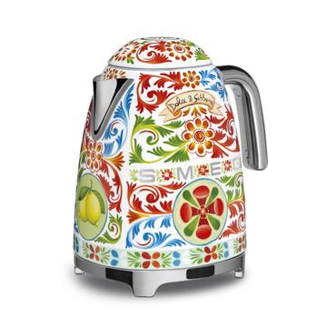 KLF03DGEU, Wasserkocher, Dolce & Gabbana, 1,7 l, 2400 W, 50er Jahre Design – Bild 1