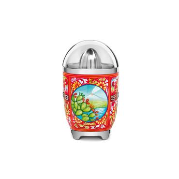 Dolce&Gabbana Design,  Zitruspresse, Fruchtpresse, Filtersieb und Anti-Tropf-Auslauf aus Edelstahl,                SMEG 3D-Logo, 70 W – Bild 4