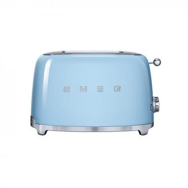 50's Retro Style, Toaster, 2 Scheiben, Pastellblau, 6 Röstgradstufen, 3 Automatikprogramme, 950 W – Bild 1
