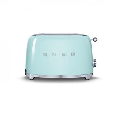 50's Retro Style, Toaster, 2 Scheiben, Pastellgrün, 6 Röstgradstufen, 3 Automatikprogramme, 950 W