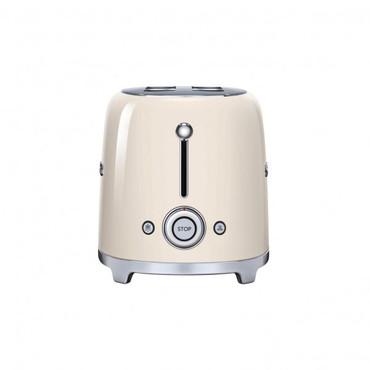 50's Retro Style, Toaster, 4 Scheiben, Creme, 6 Röstgradstufen, 3 Automatikprogramme, 1500 W – Bild 2