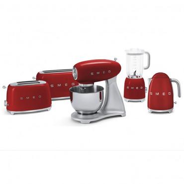 50's Retro Style, Toaster, 4-Scheiben, Rot, 6 Röstgradstufen, 3 Automatikprogramme, 1500 W – Bild 6