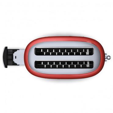 50's Retro Style, Toaster, 4-Scheiben, Rot, 6 Röstgradstufen, 3 Automatikprogramme, 1500 W – Bild 5