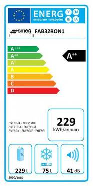 FAB32RON1, Standkühl-Gefrierkombination, A++, Orange, 229 L, Rechtsanschlag, No Frost – Bild 3