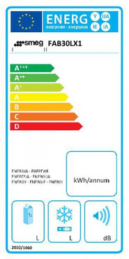 FAB30LX1, Standkühl-Gefrierkombination, A++, Polarsilber Metallic, 229 L, Linksanschlag – Bild 2