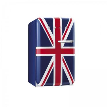 FAB10LUJ, Stand-Kühlschrank mit Gefrierfach, A+, Union Jack, 101 L, Linksanschlag – Bild 1