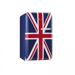 FAB10LUJ, Stand-Kühlschrank mit Gefrierfach, A+, Union Jack, 101 L, Linksanschlag 001