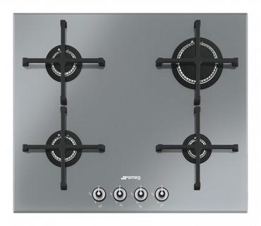 PV164SD, Gaskochfeld Edelstahl vierflammig 60 cm Linea Design  – Bild 1