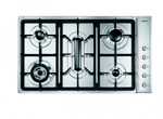 SD97ASX3, Gaskochfeld Edelstahl fünfflammig 90 cm Classici Design  001