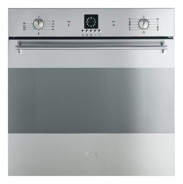 SFP99X-1, Einbaubackofen, EEK-A-20%, 60 cm, Edelstahl, Pyrolyse, Linea Pura – Bild 1