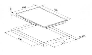 SE2772CX2, Glaskeramikkochfeld 77 cm  – Bild 2