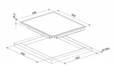 SE2641CX2, Glaskeramikkochfeld 60 cm  – Bild 2