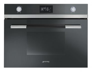 SF4120VCN, Einbau-Kompakt-Dampfbackofen, EEK-A+, Linea Design, Schwarzglas, 45cm – Bild 1