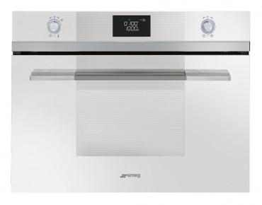 SF4120MCB, Einbau-Kompakt-Mikrowellenbackofen, EEK-A+++, 45cm Weissglas, Linea Design – Bild 1