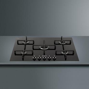PV175CND, Einbau-Gaskochfeld, Linea Design, 72 cm, Glaskeramik Schwarz – Bild 4