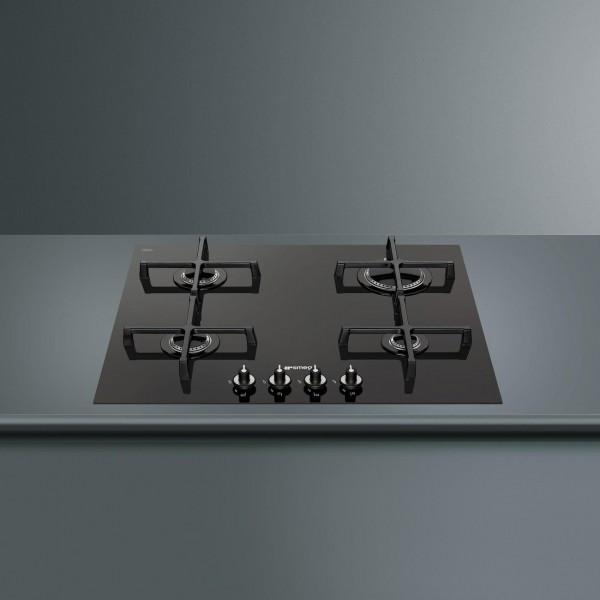 pv164cnd einbau gaskochfeld linea design 60 cm glaskeramik schwarz backen kochen. Black Bedroom Furniture Sets. Home Design Ideas