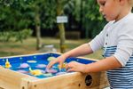 Plum Build and splash Sand- und Wassertisch aus Holz