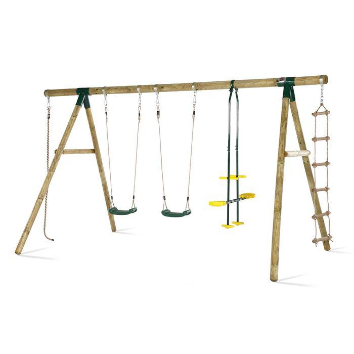 Plum Orang-Utan Holzschaukel- und Kletterset