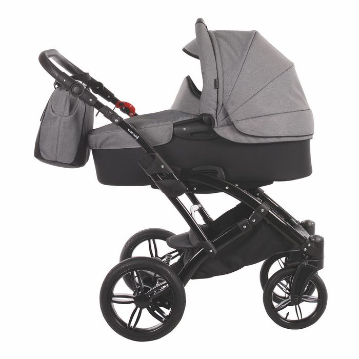 Knorr Voletto Carbon Look Kinderwagen