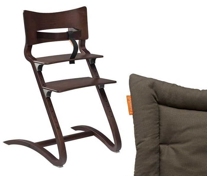 Leander Hochstuhl mit Sicherheitsbügel und Sitzkissen