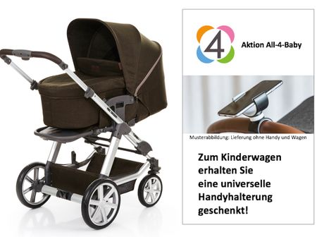 ABC Design Turbo 4 Kollektion 2018 inkl. universeller Handyhalterung