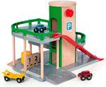 BRIO Parkhaus Straßen und Schienen 33204 001