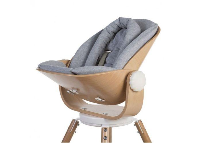 Childhome EVOLU NEWBORN Sitzkissen - Farbe: Jersey Grau