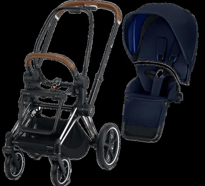 Cybex PRIAM Kinderwagen Gestell inkl. Seat Pack