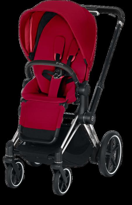 Cybex e-PRIAM Kinderwagen Gestell inkl. Seat Pack