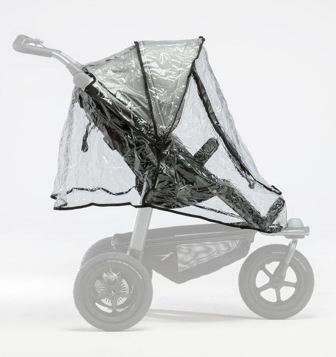 TFK Regenschutz für Mono oder Duo Kinderwagen